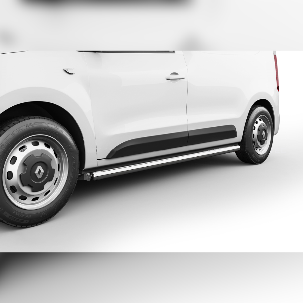 PROTECTIONS LATERALES INOX SUR RENAULT EXPRESS 2021+